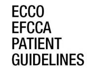 Guías para pacientes con Crohn y Colitis Ulcerosa ECCO- EFCCA