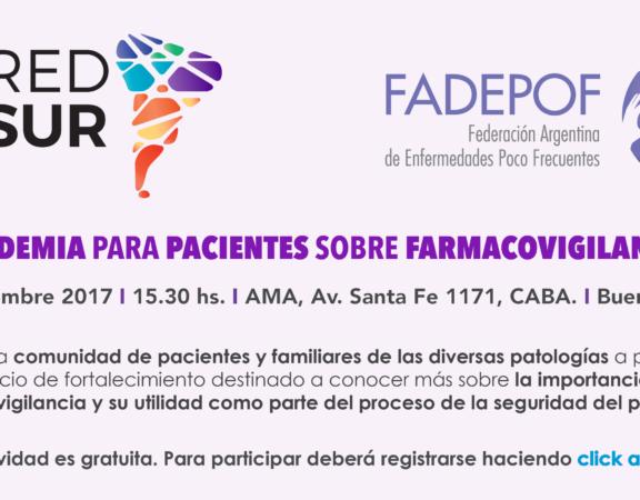 Invitación Academia Pacientes FVG
