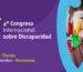 4to. Congreso Internacional de Discapacidad. 13 al 15 Sep´17. Chaco.